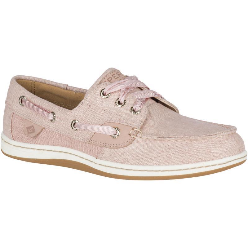 Womens Sperry Songfish Linen Boat Shoe